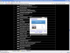 Mein Blog bei deutscheblogcharts.de